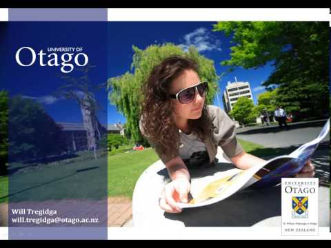 University of Otago Master of International Studies Informational Webinar