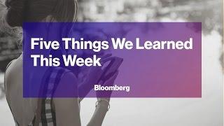 Five Things We Learned This Week (03/10)