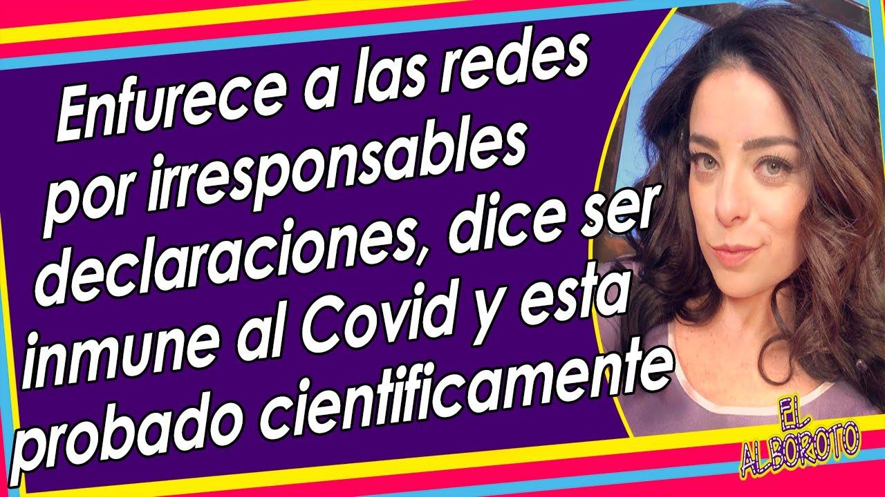 Violeta Isfel dice que si aun no te a dado coronavirus es por que eres inmune