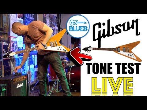 My Gibson Flying V Live Blues Jam (NO METAL 😂)