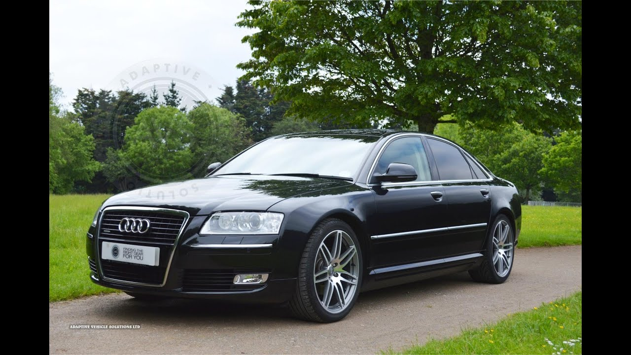 2008 58 plate audi a8 3 0 tdi sport saloon automatic sold youtube. Black Bedroom Furniture Sets. Home Design Ideas