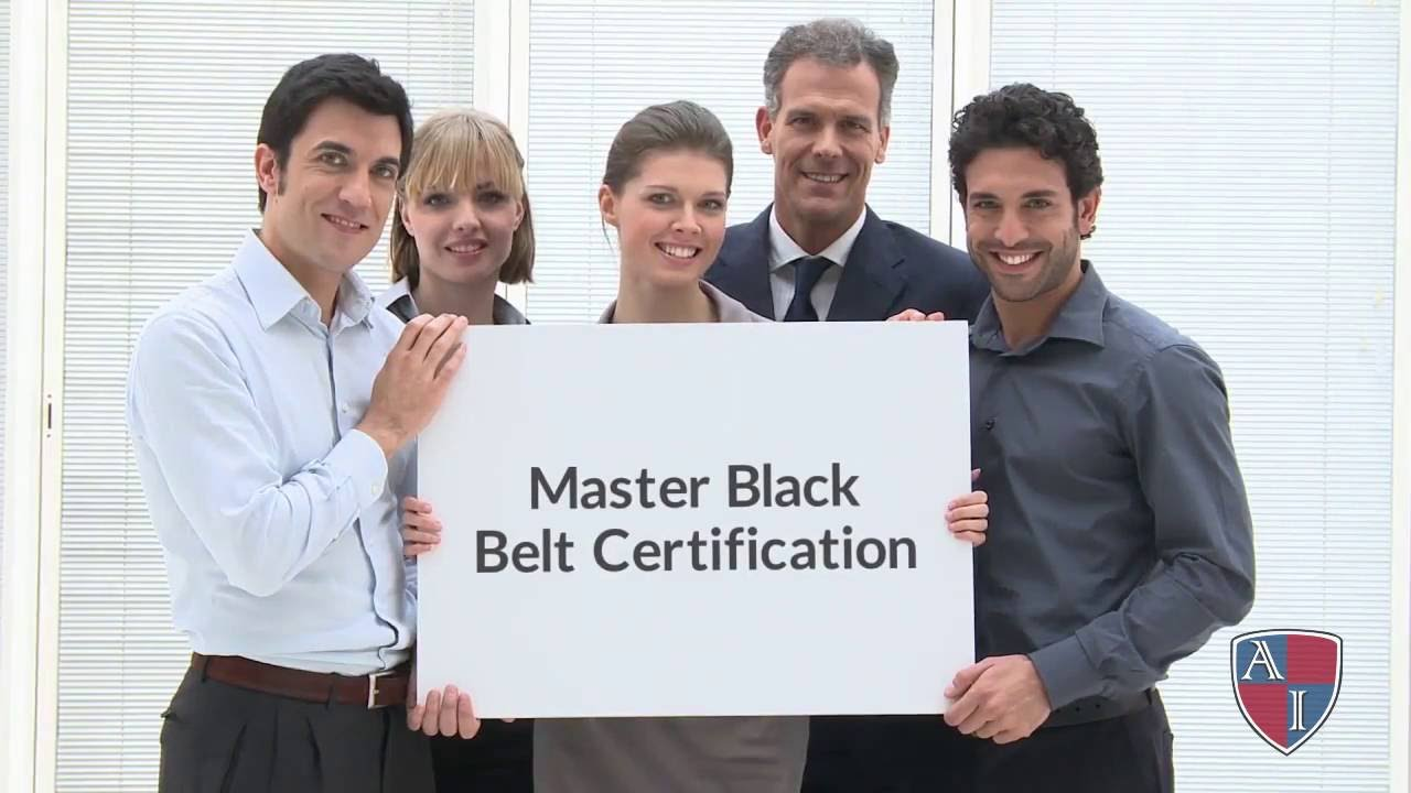 Lean Six Sigma Master Black Belt Certification Youtube