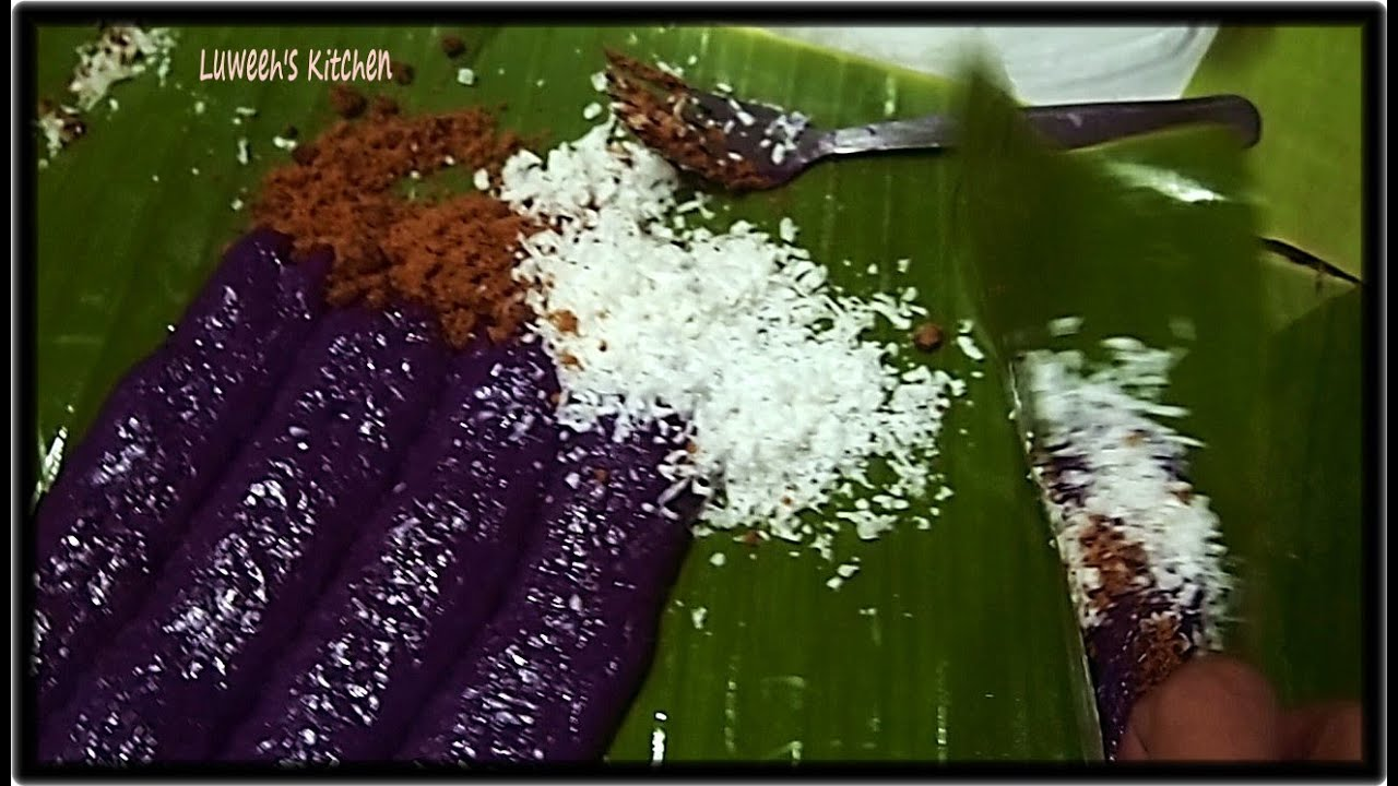 No Steam Puto Bumbong Requested Recipe  YouTube