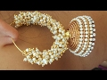 DIYHow to make party wear Jhumkas.The stunning handmade's..