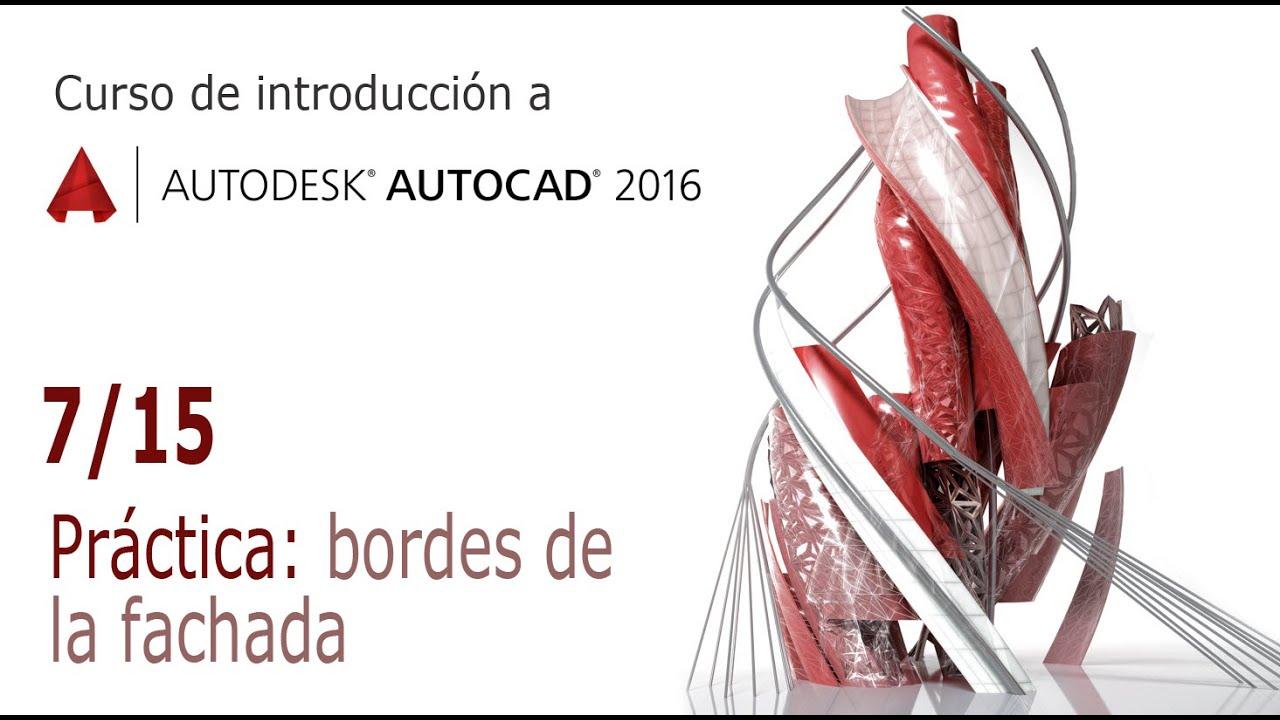 Curso de Introduccin a AutoCAD Prctica  Un edificio 715