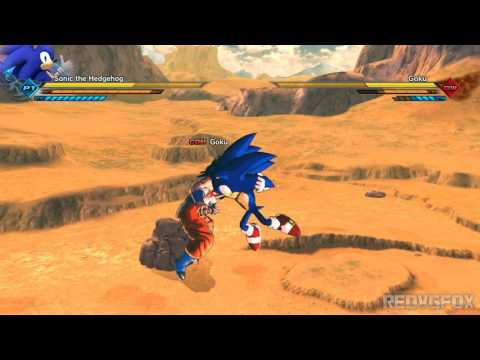 SONIC VS GOKU - Xenoverse 2 Mods