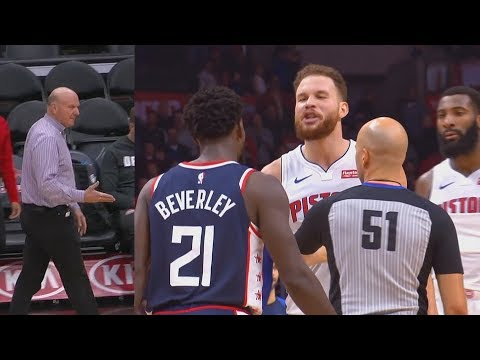Blake Griffin Disrespects Clippers Owner Then Exchanges Words With Patrick Beverley After Revenge!