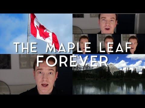 The Maple Leaf Forever (acapella) | Jonathan Estabrooks