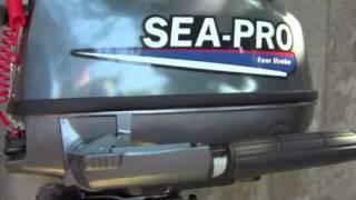 мотор sea pro 5л. с.Обзор мотора новинка четырёхтактный