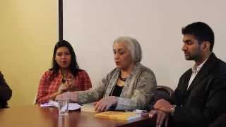 IAAC First Annual Literary Festival 2014: Jaya Kamlani (Highlights)