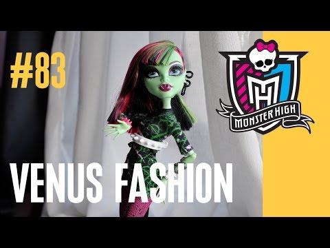 видео: Венера МакФлайтрап кукла Монстр Хай (все виды в одном видео)