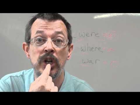 WHERE vs WERE vs WAR 영어공부 영어발음 이익훈어학원강남