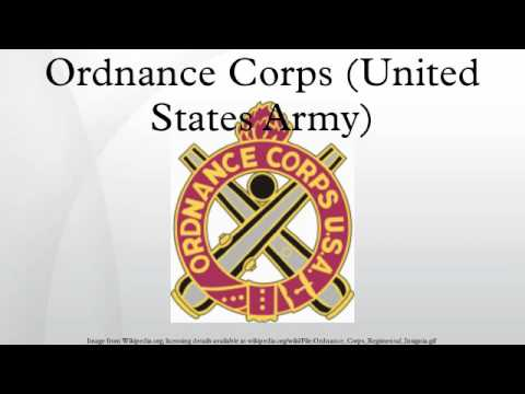 Ordnance Corps (United States Army)