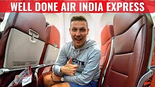 Review: AIR INDIA EXPRESS - AMAZING CREW & FILTHY PLANE!