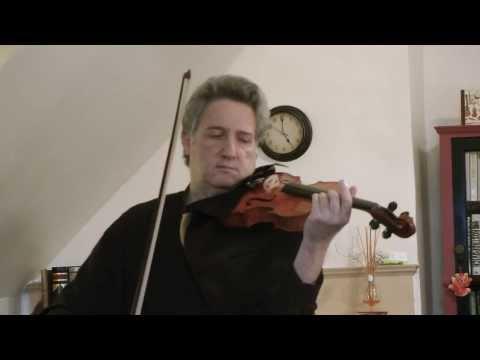 Raphael Klayman plays on Peter Lam violin