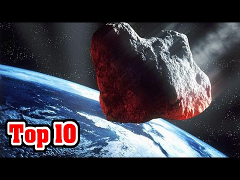 Top 10 Recent Near Earth Asteroids