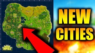 New Fornite Map LEAKED! New Fortnite Battle Royale Cities! New Best Loot Spots in Fortnite!
