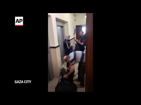 AP staff evacuate Gaza building before Israeli strike