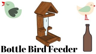 FULL PLANS at: http://www.howtospecialist.com/outdoor/birdhouse/how-to-b...bird-feeder/ ▻ SUBSCRIBE for a new ...
