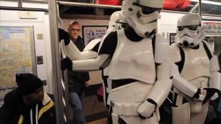 Star Wars Subway Invasion  Presented By Costume Hub