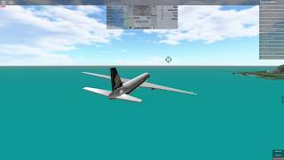(Place With Airliners) ROBLOX - (Boeing 777) Singapore airlines!