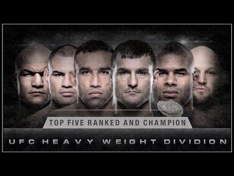 RANK TOP 5 + CHAMPION_(UFC – Heavy weights.)