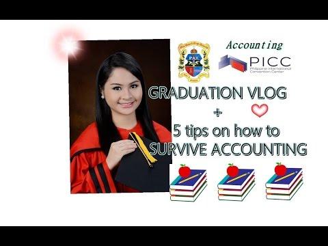 5 tips on how to survive Accounting + Graduation VLOG // Aliya Lee