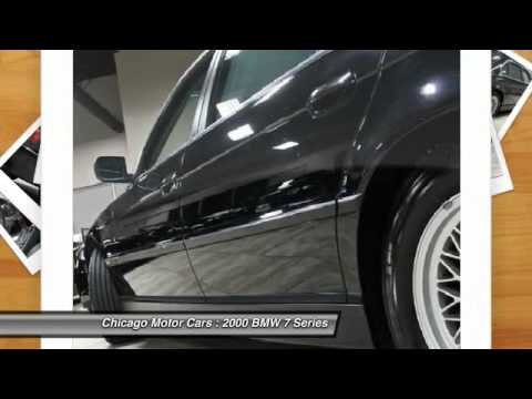 2000 BMW 740iL Chicago Motorcars DP15030