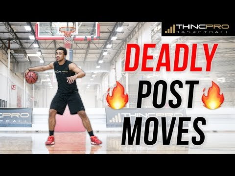 3 Simple But DEADLY Effective POST MOVES for Basketball Players!! (Unstoppable Footwork in the Post)