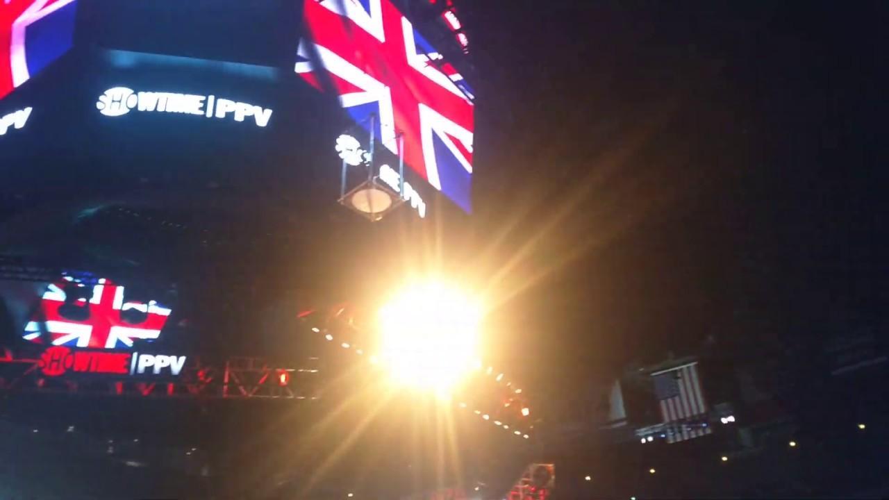 Download Tyson Fury British National Anthem vs. Deontay Wilder