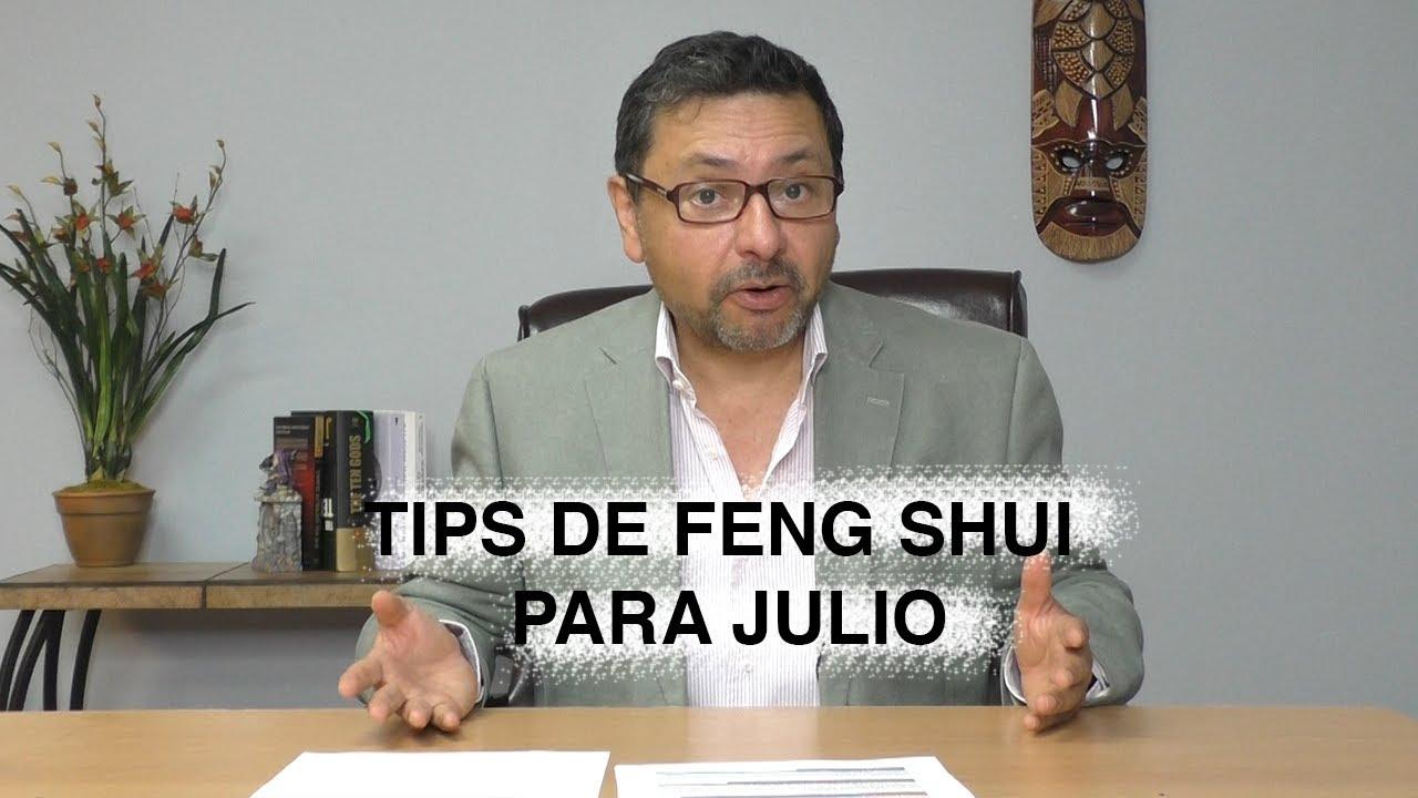 Feng Shui Tips - Recomendaciones para Julio 2020 (Cabra de Agua)