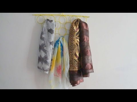 How To Create A Useful Scarf Hanger - DIY Crafts Tutorial - Guidecentral