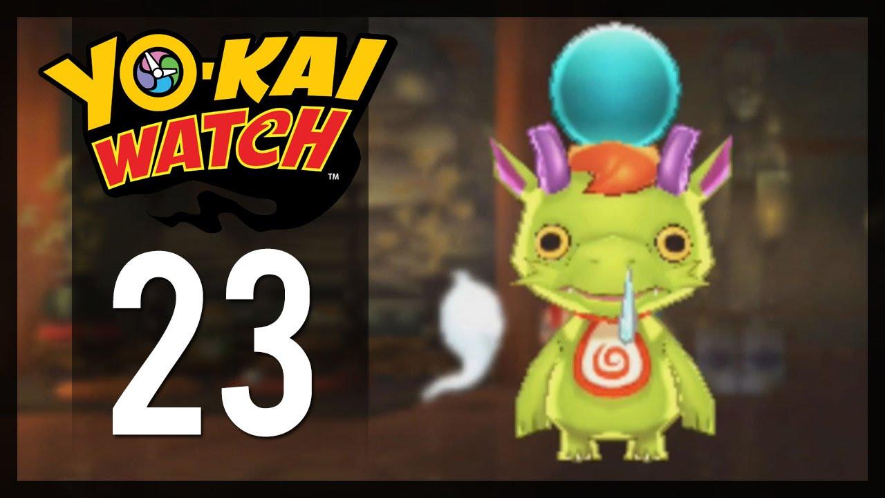 Yo kai watch gameplay walkthrough part 23 draggie for Decoration yo kai watch