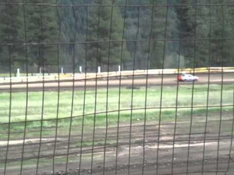 Eagle Track Raceway Trevor Twamley Victory Lap May 10th 2014