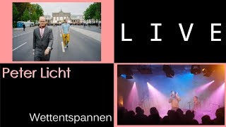 Peter Licht - Wettentspannen (incl. Story), live in München / Munich Feierwerk 2019-04-30