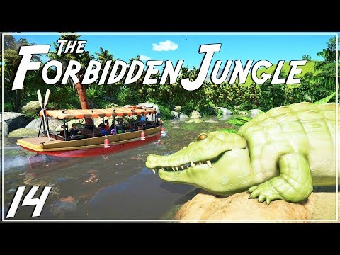 The Forbidden Jungle (adventure) | Planet Coaster | Ep. 14 | Finishing our Jungle Cruise |