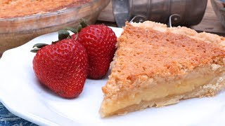 Old Fashioned  Buttermilk Pie Recipe