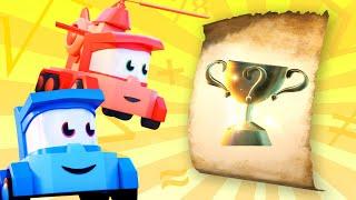 мультики з вантажівками для діточок - Розгадуємо загадки - Truck Games