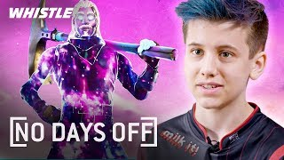 Download 14-Year-Old PRO Fortnite Gamer Sceptic | The Next NINJA? Mp3 and Videos