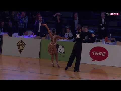 Vladislav Robatshenko - Juliana Menzhinskaya   R1 Samba   Eesti Meistrivõistlused 2018