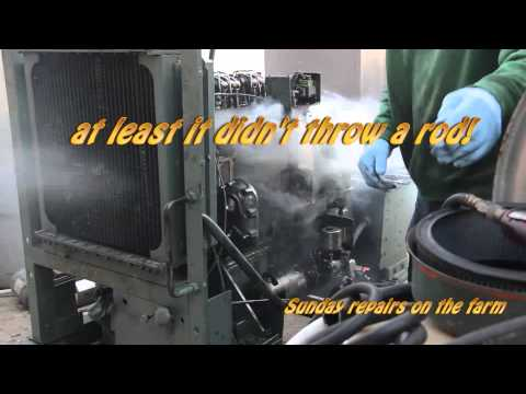2-71 Detroit Diesel Blower Repair
