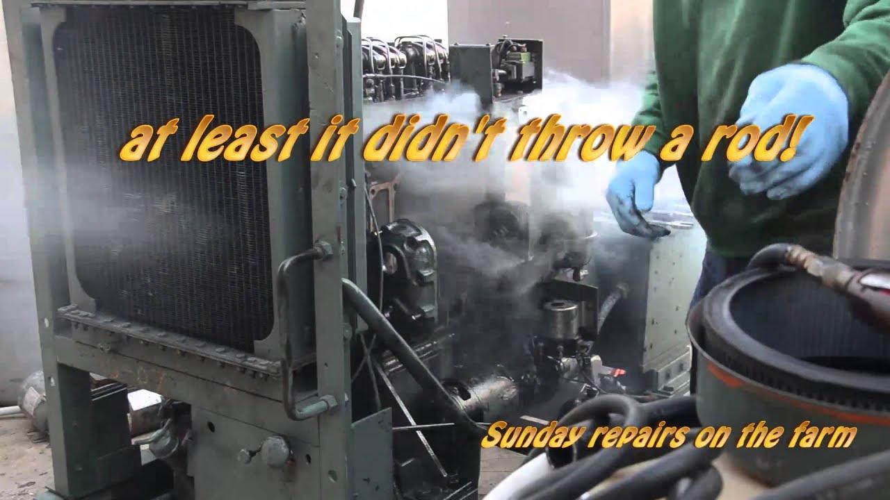 2 71 Detroit Diesel Blower Repair