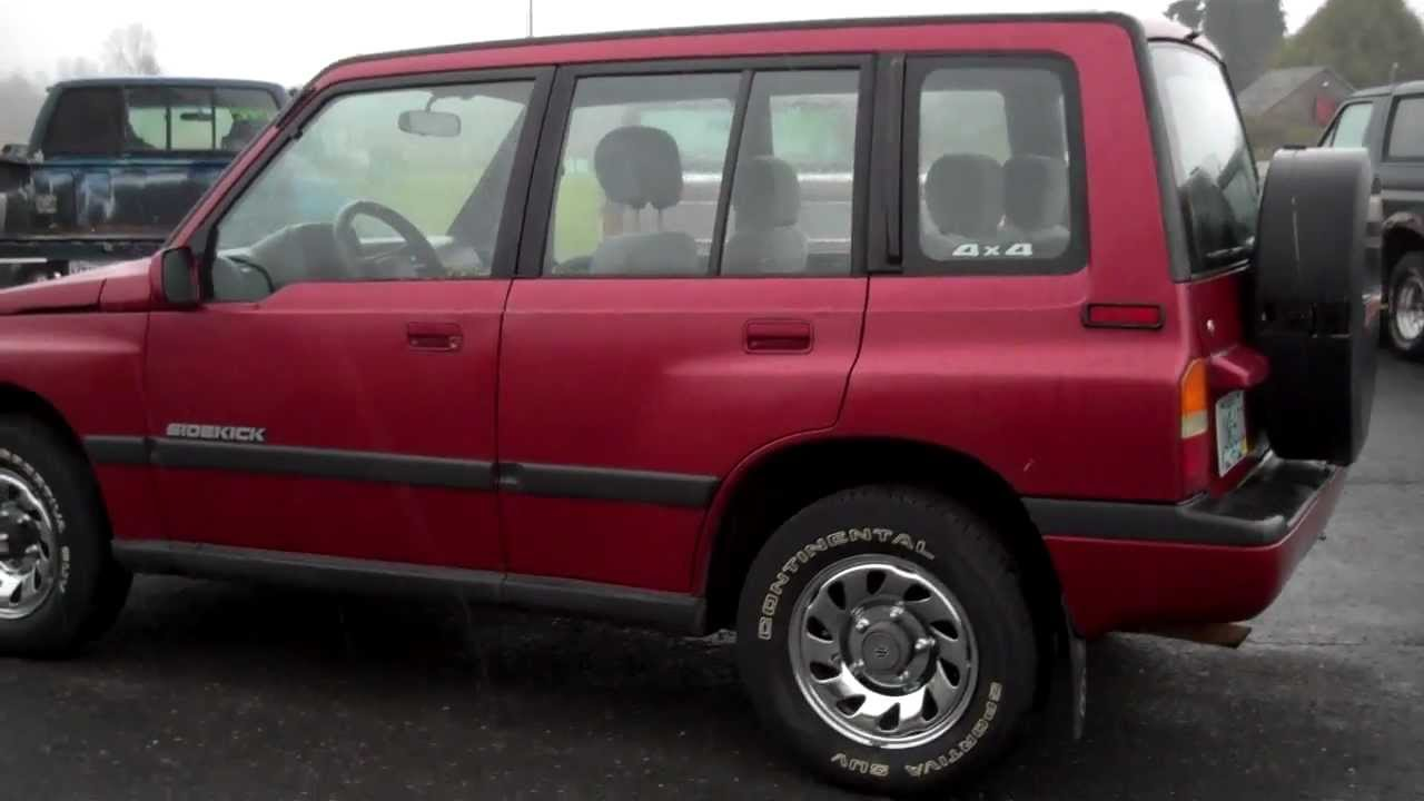 1994 Suzuki Sidekick Sold