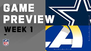 Dallas Cowboys vs. Los Angeles Rams Week 1 NFL Game Preview