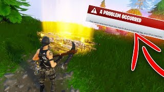 Leaving My INVENTORY in a SCAMMERS Storm Shield *INSANE* Experiment - Fortnite Save The World