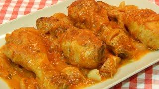 Receta fácil de pollo en salsa al estilo Mallorquín