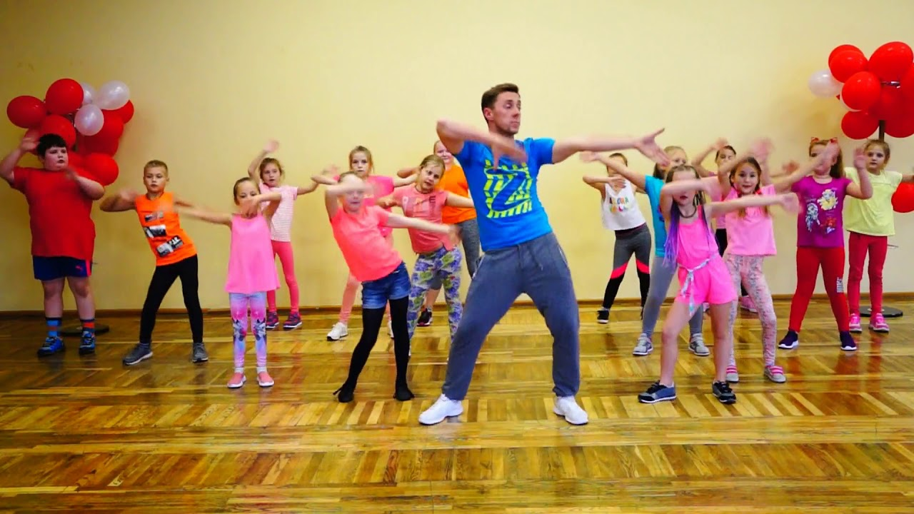 Zumba Kids Easy Dance I Like To Move It Youtube