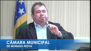 Claudio Maroca em pronunciamento 24 03 2017