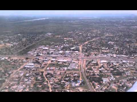 Flying into Gaborone Botswana Airport
