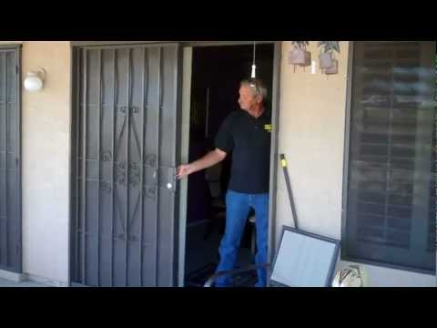 Sliding Patio Security Doors by Day Star Screens 480-986-286